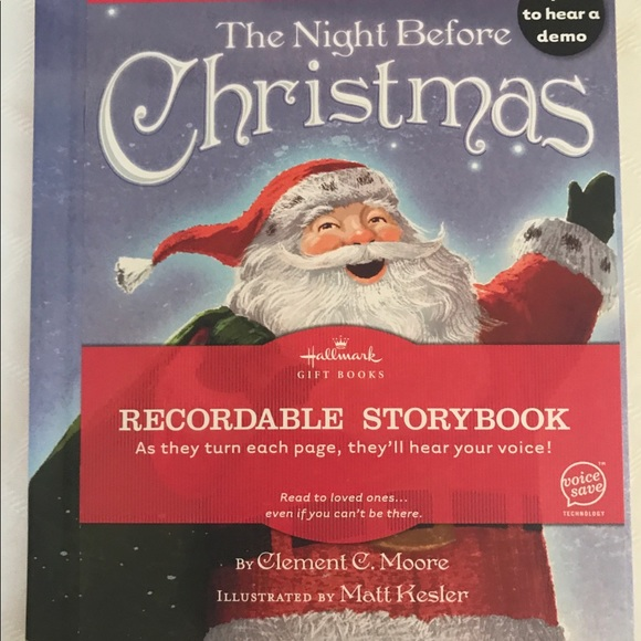 Recordable Christmas Books.The Night Before Christmas Recordable Story Book